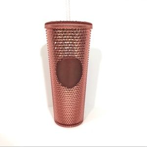 Starbucks Rose Gold Studded Tumbler